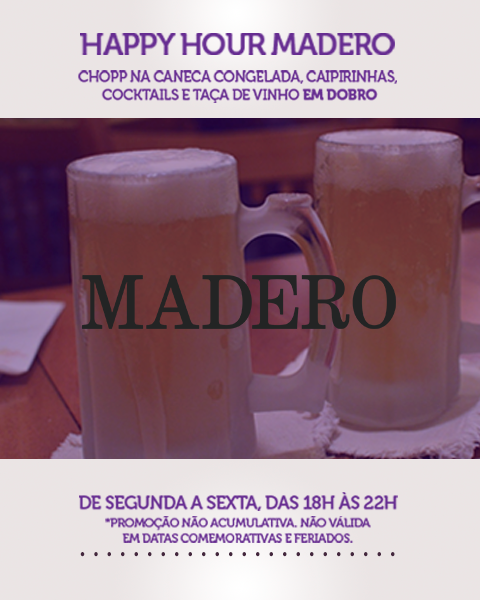 Happy Hour Madero
