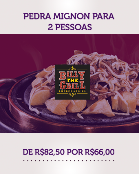 Pedra Mignon – Billy The Grill