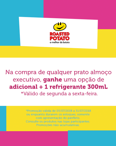 Tô de Férias – Roasted Potato